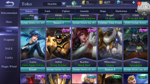AKUN MOBILE LEGEND Sultan ANDROID WAJIB LIRIK
