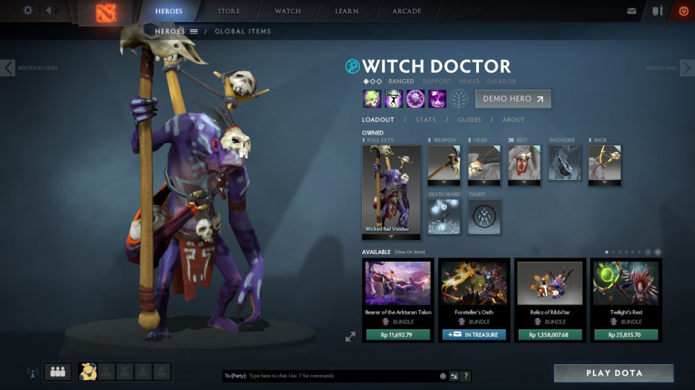 Wicked Bad Voodoo (Witch Doctor Set)