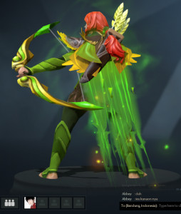 Inscribed Sylvan Cascade (Immortal Windranger)