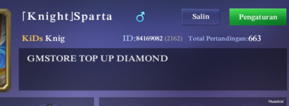 Top Up 220 Diamonds
