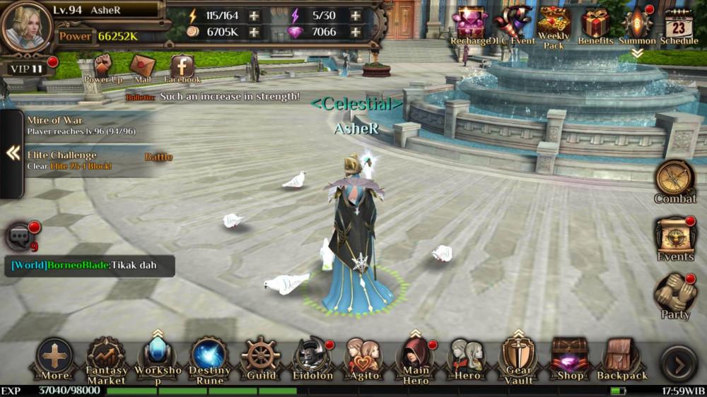 Final Fantasy Awakening Server 22 Vip 11, Nego!