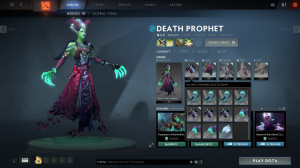 Witch of Outland ( Death Prophet Set)