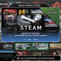 Steam Wallet Code - IDR 60.000
