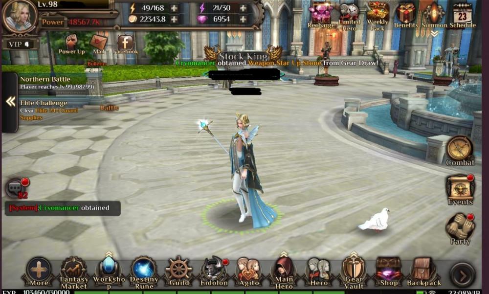 Akun FF Awakening Elite Player S5, TOP GUILD