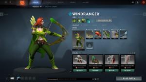 Zaru'Kina Protector's Garb (Windranger Set)