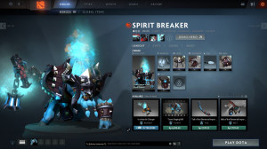 Heavy Armor of the World Runner (Spirit Breaker Set)