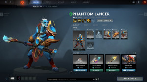 Jewels of Teardrop Ice (Phantom Lancer Set)