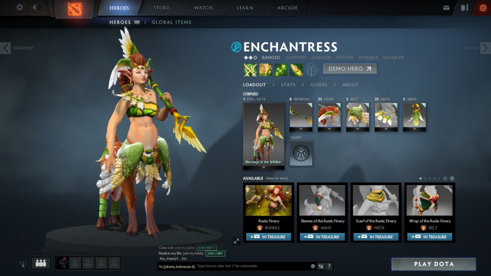 Blessings of the Wildwing (Enchantress Set)