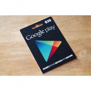 Google Play Gift Card – USD $25