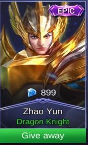 Dragon Knight (Epic Skin Zilong)