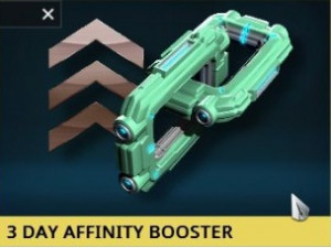Affinity Booster 3 Hari