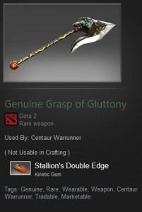 Genuine Grasp of Gluttony (Centaur Warrunner)