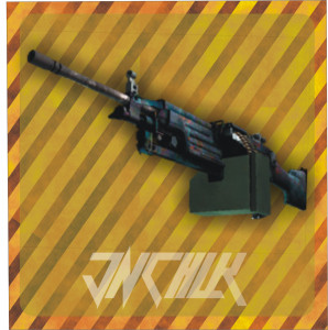 M249 | Magma (Battle-Scarred)