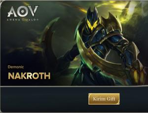 Demonic (Skin Nakroth)