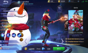 Christmas Carnival (Special Skin Lancelot)