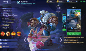 Barbaric Might (Elite Skin Balmond)
