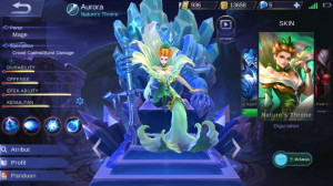Nature's Throne (Skin Aurora)
