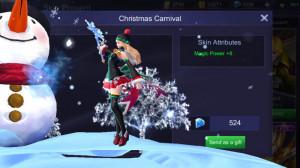 Christmas Carnival (Special Skin Odette)