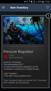 Pressure Regulator (Clockwerk Set)