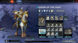 Empowered Vestments of the Gods (Keeper of the Light Set)