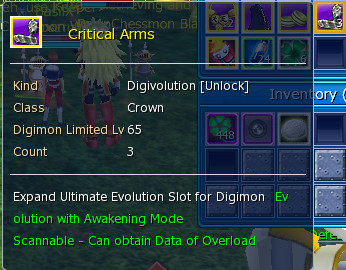 Critical Arm