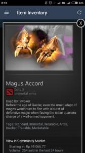 Magus Accord (Immortal TI7 Invoker)