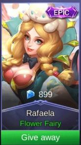 Flower Fairy (Epic Skin Rafaela)