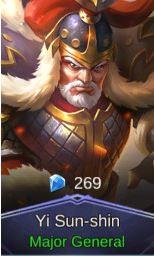 Major General (Skin Yi Sun-shin)