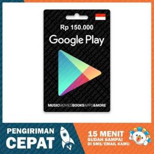 Google Play Gift Card – IDR 150.000