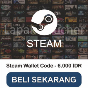 Steam Wallet Code - IDR 6.000