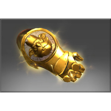 Inscribed Razzil's Midas Knuckles (Immortal Alchemist)