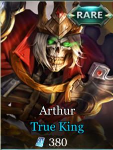 Skin Langka Arthur 380