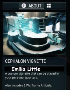 Cephalon Vignette