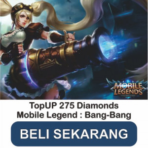 Top Up 275 Diamonds