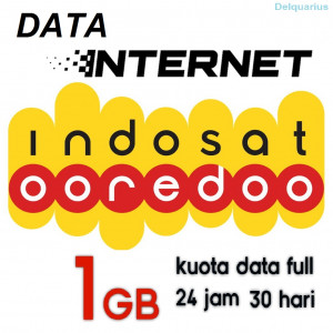 Paket Data Internet Indosat 1GB Unlimited