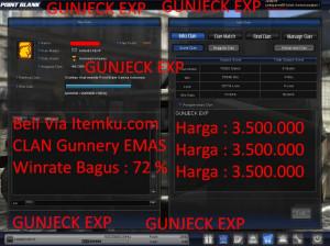 PROMO CLAN GUNNERY EMAS