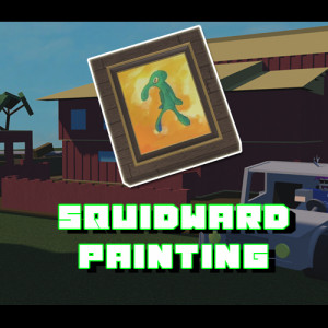 Squidward Painting [Lumber Tycoon 2]