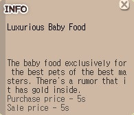 Luxurious Baby Food