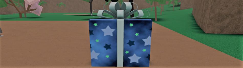 Big Blue Gift