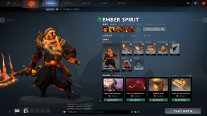 Order of the Wandering Flame (Ember Spirit Set)