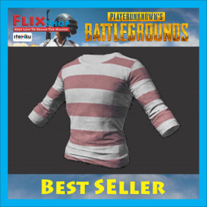 Long-sleeved T-shirt (Striped)