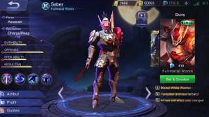 Fullmetal Ronin (Skin Elit Saber)