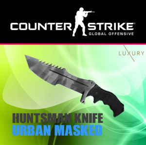 Huntsman Knife | Urban Masked