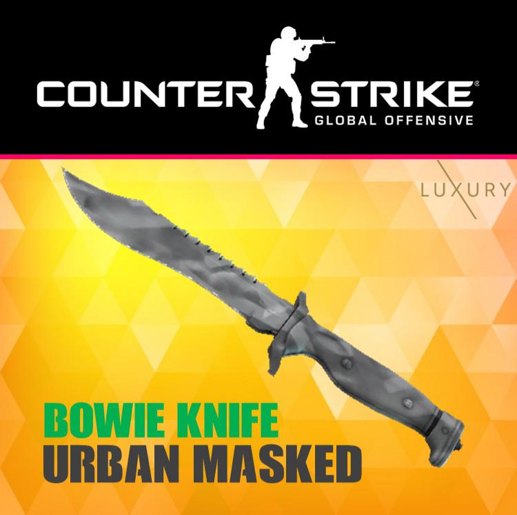 Bowie Knife | Urban Masked