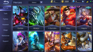 Akun Mobile Legends Rare Special Murah