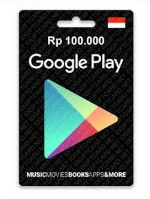 Google Play Gift Card – IDR 100.000