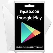 Google Play Gift Card – IDR 50.000