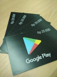 Google Play Gift Card – IDR 20.000