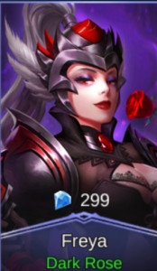 Dark Rose (Skin Freya)