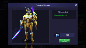 Golden Warrior (Skin Saber)